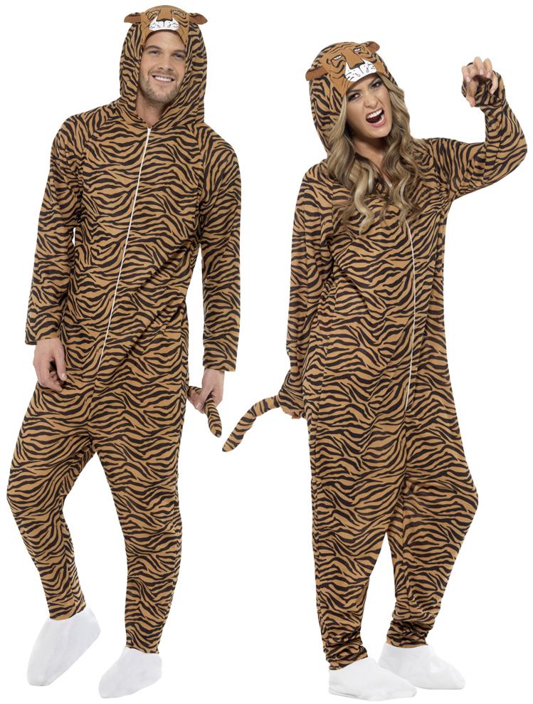 c6721e63334c Adults Tiger Fancy Dress Costume