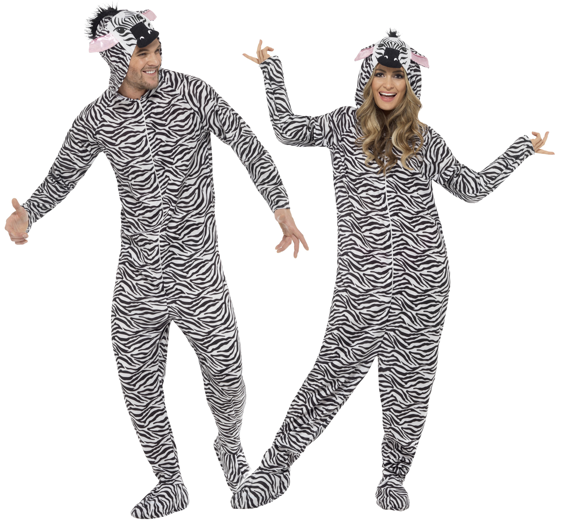 Adults Zebra Fa...