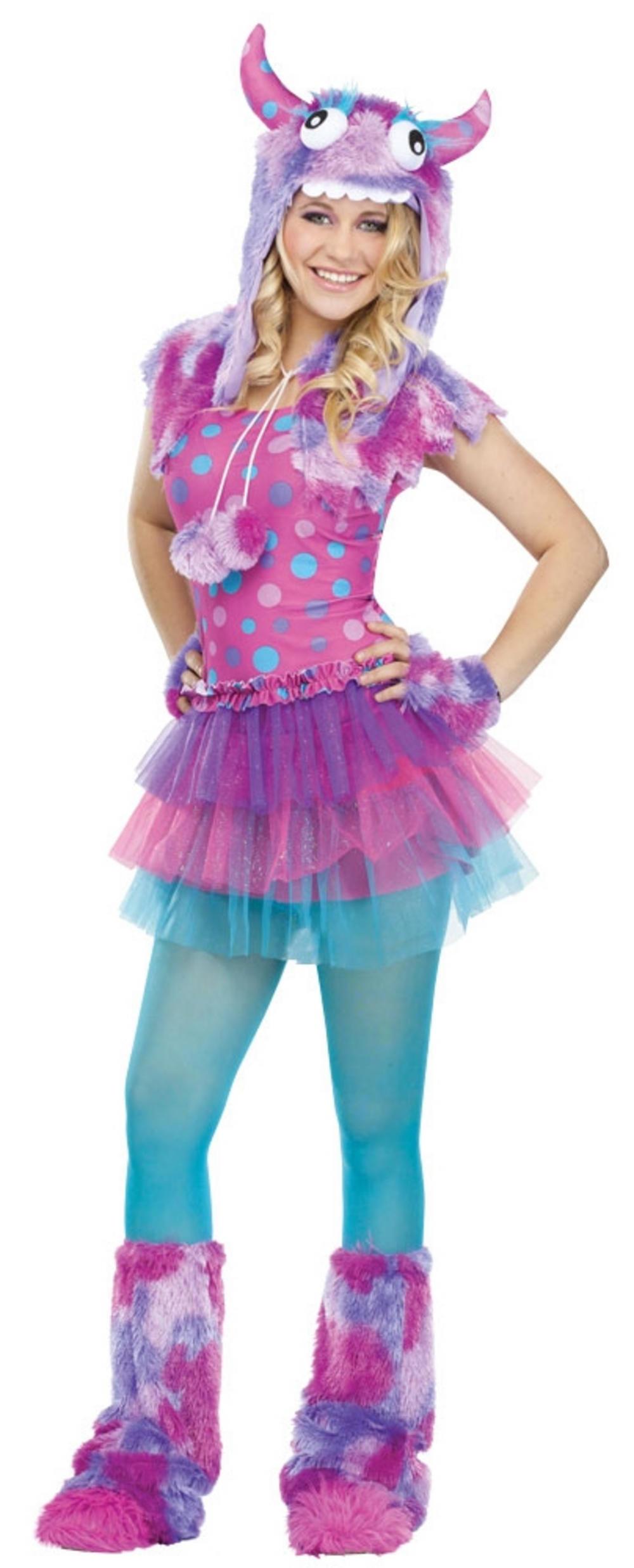 girls polka dot monster costume | all halloween | mega fancy dress