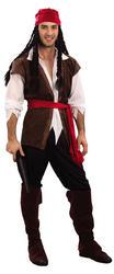 Caribbean Pirate Costume (XL)