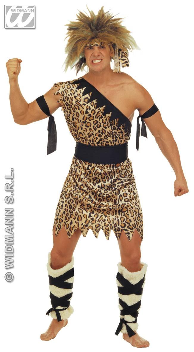 Caveman Adults Fancy Dress Stone Age Prehistoric Book Week Mens ...
