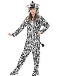 Kids Zebra Fancy Dress Costume