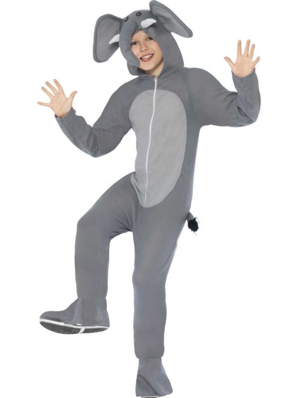 Kids Elephant Fancy Dress Costume  sc 1 st  Mega Fancy Dress & Kids Elephant Fancy Dress Costume | TV Book and Film Costumes ...