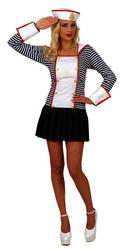 Sailor Fancy Dress Costume