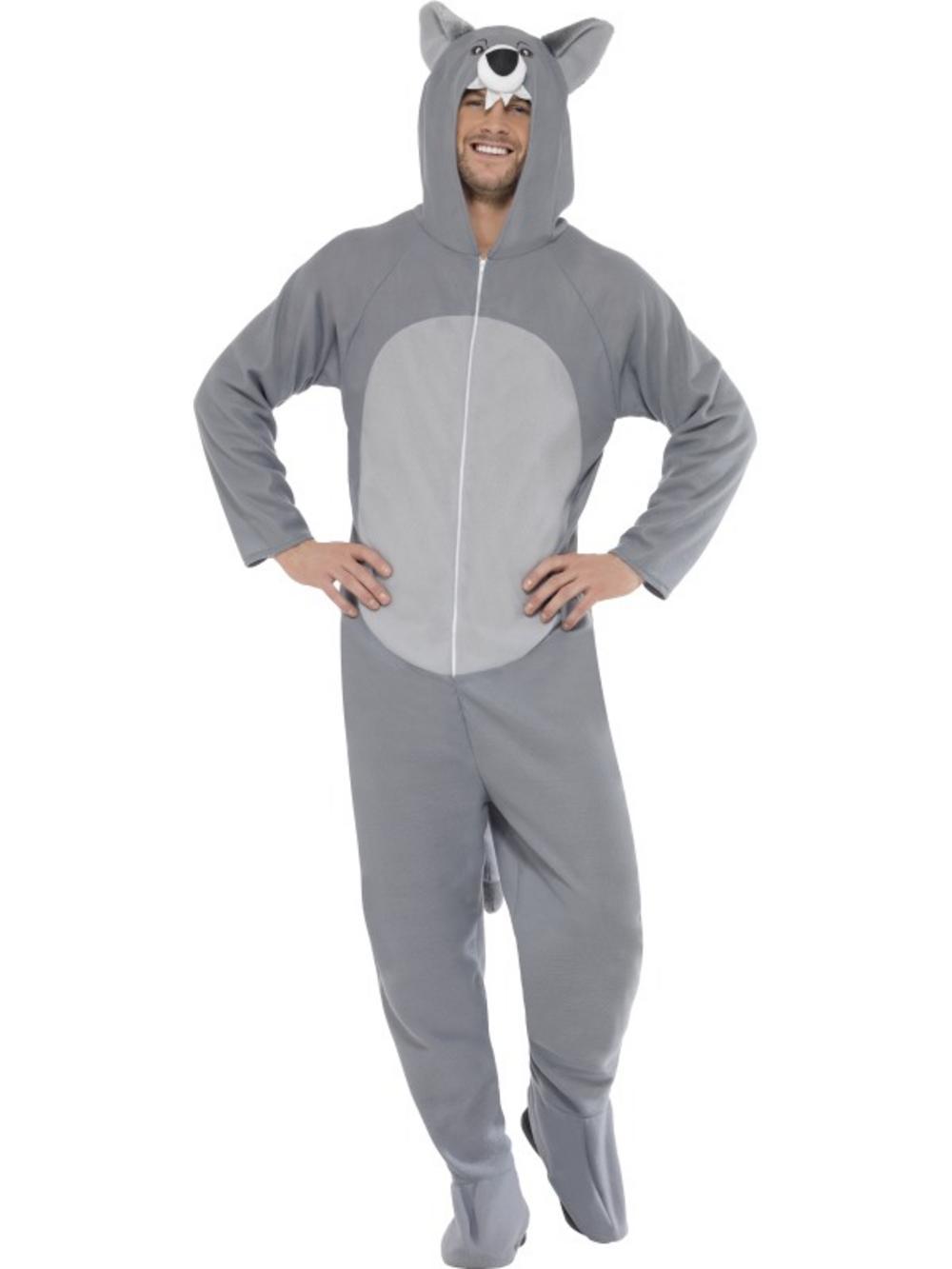 Adults Wolf Fancy Dress Costume
