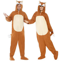 Adults Fox Fancy Dress Costume