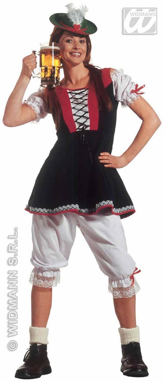 Bavarian Beer Girl Fancy Dress