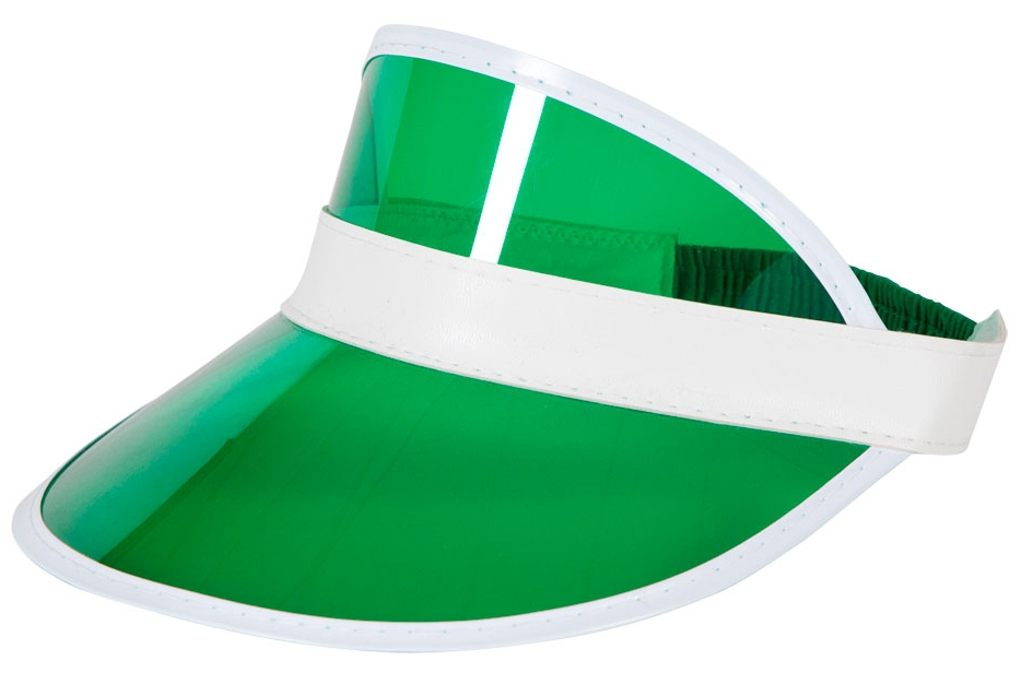 Details about Green Poker Sun Visor Hat Mens Pub Golf Casino Tennis Fancy  Dress Sports Costume 66c7cb5796e