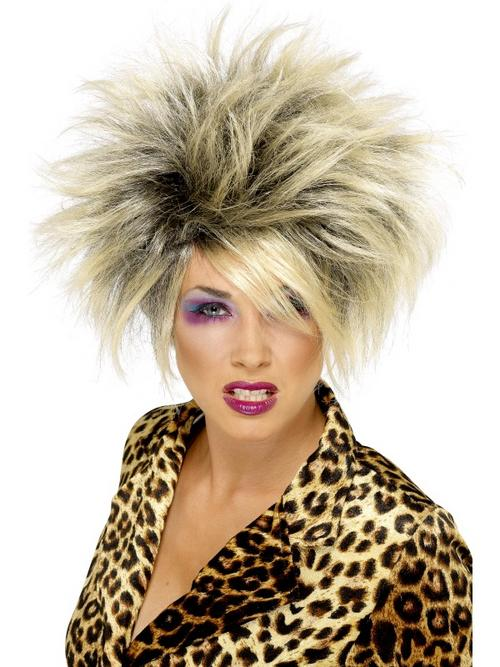 Ladies 80s Wild Girl Wig
