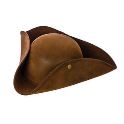 Deluxe Suede Pirate Hat
