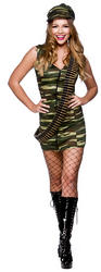 Ladies Sergeant Saucy Costume