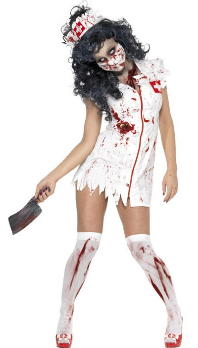 Zombie Nurse Halloween Costume