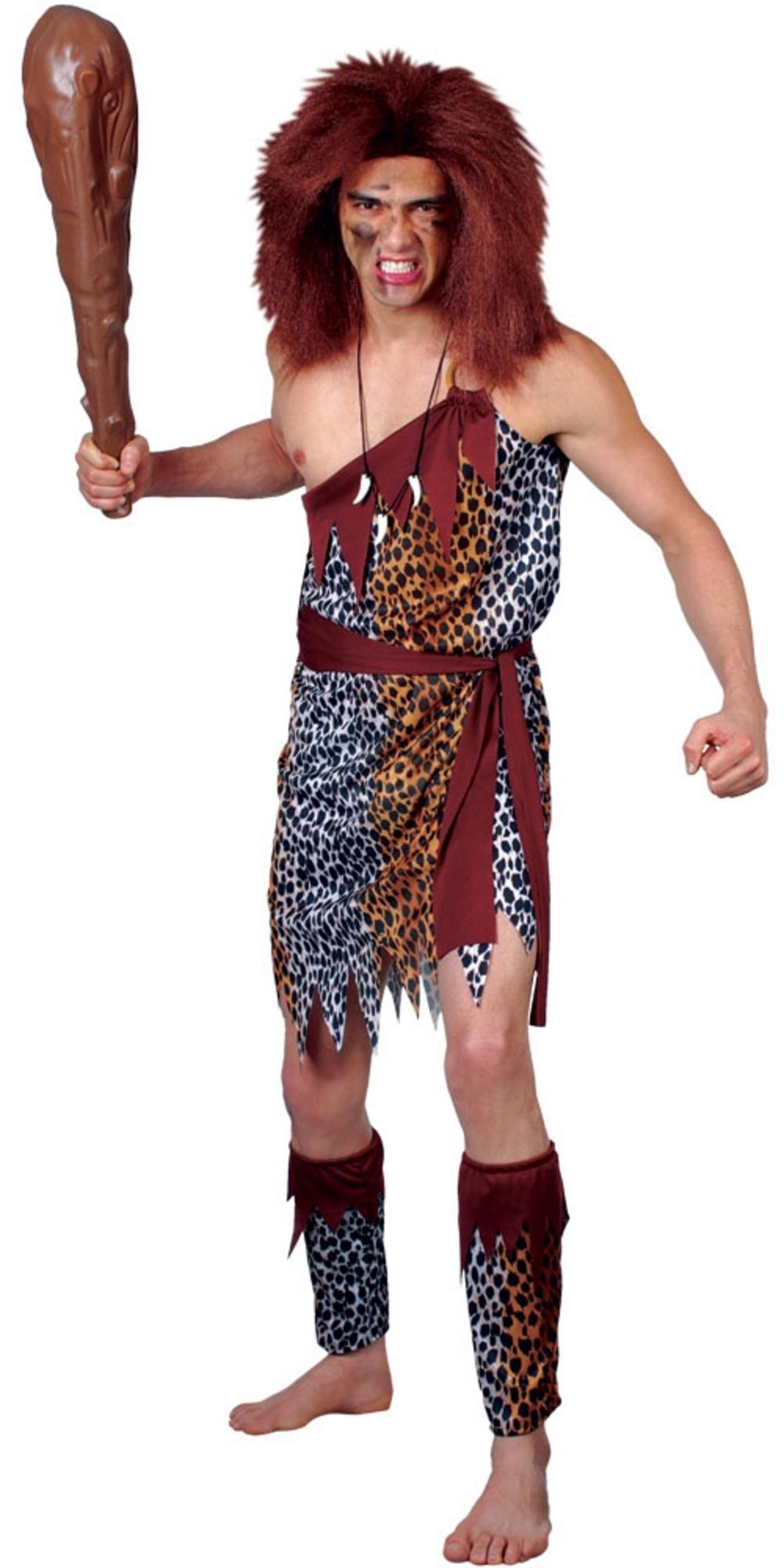 Mens Wild Caveman Costume