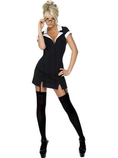 Deluxe Sexy Secretary Costume
