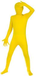 Kids Yellow Skinz Costume