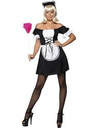 Sexy French Mistress Maid Costume