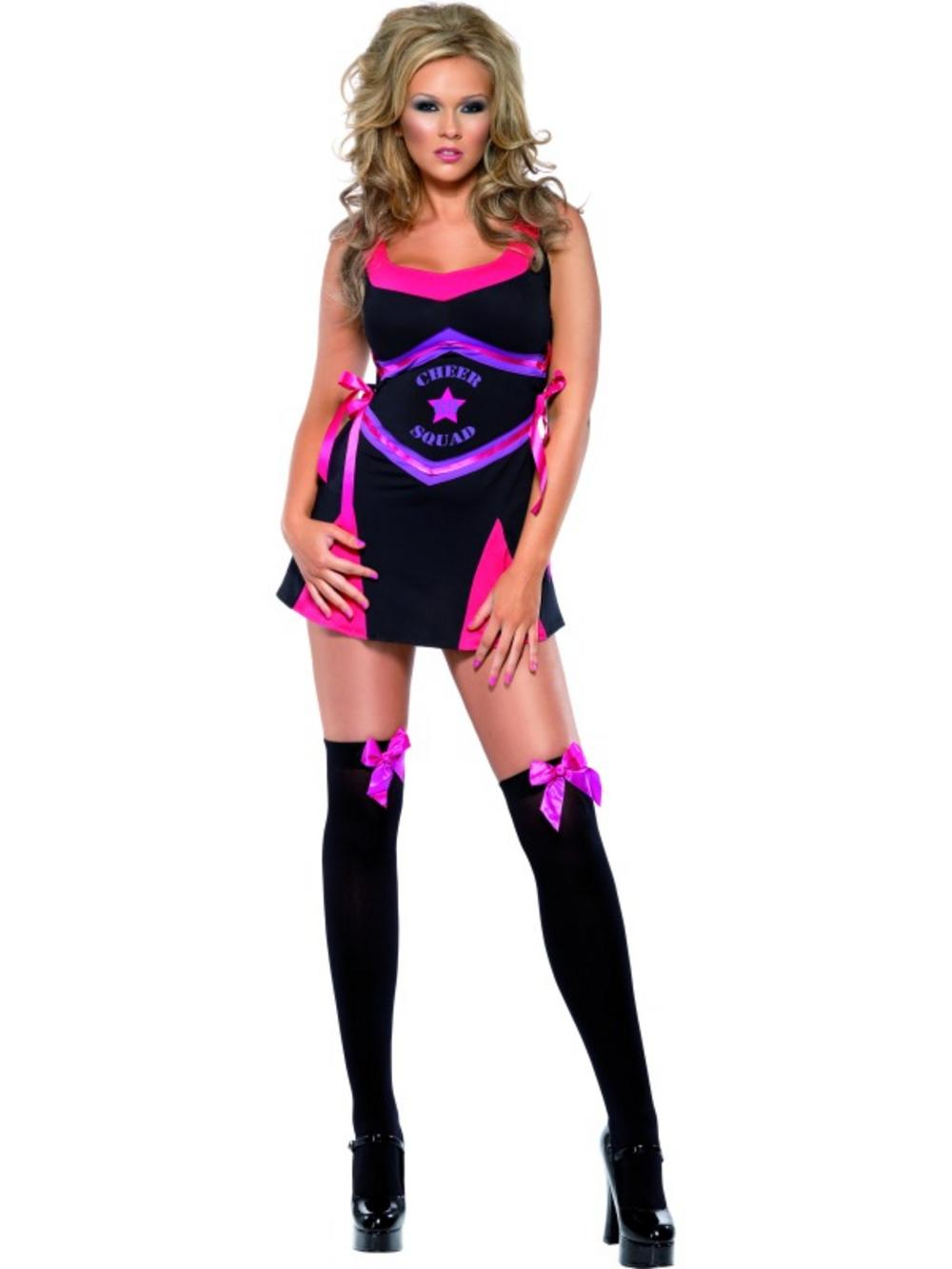 Sexy Fever Squad Cheerleader Costume
