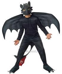 Boys Toothless Night Fury Costume