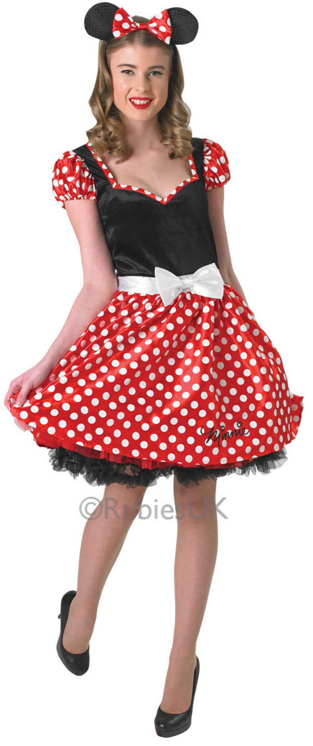 Ladies Sassy Minnie Mouse Costume