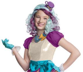 Girls Madeline Hatter Wig