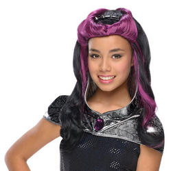 Girls Raven Queen Wig