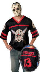 Friday the 13th Jason Hockey Jersey & Mask set
