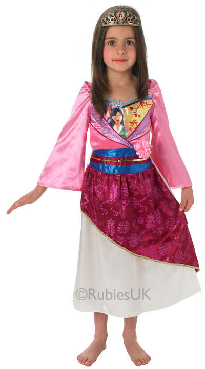 Girls Shimmer Mulan Costume