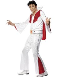 Elvis Presley Vegas King White Costume