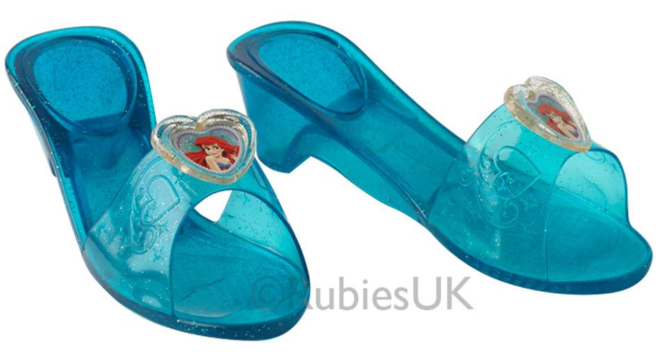 1c297736c0fc3b Little Mermaid Ariel Jelly Shoes