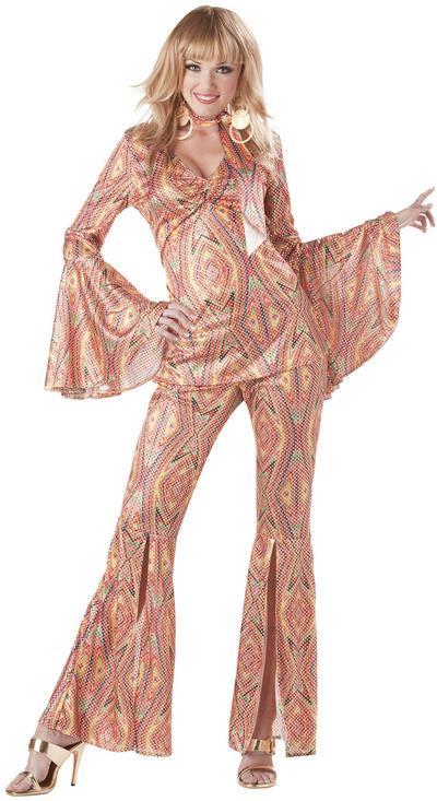 Ladies Discolicious 70s Costume