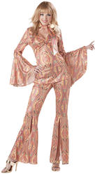 Ladies Discolicious 70s Costume