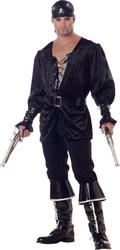 Mens Blackheart The Pirate Costume
