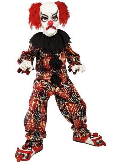 Boys Scary Clown Halloween Costume
