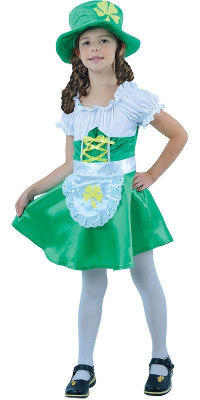 Girl's Lucky Leprechaun St Patrick's Costume