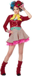 Girls Mad As A Hatter Costume
