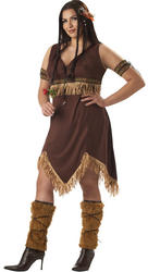 Ladies Sexy Indian Princess Costume