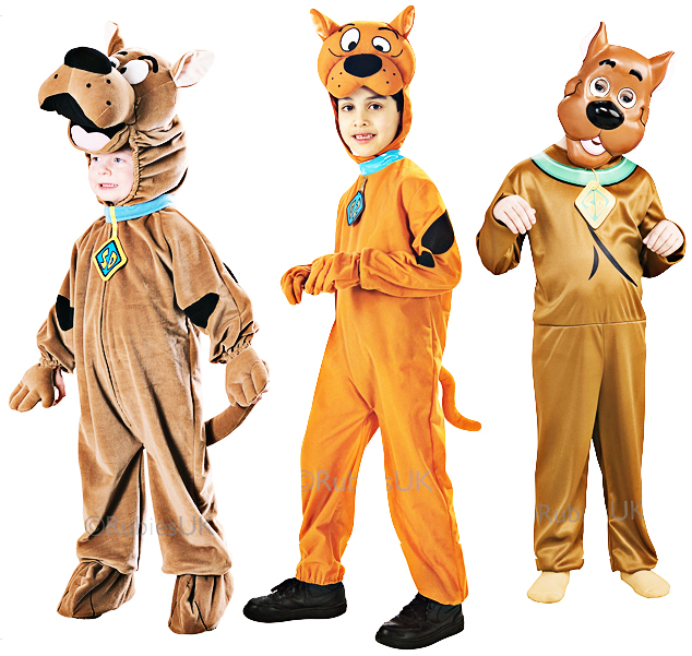 Scooby doo chien kids fancy dress tv personnage de dessin - Personnage scooby doo ...