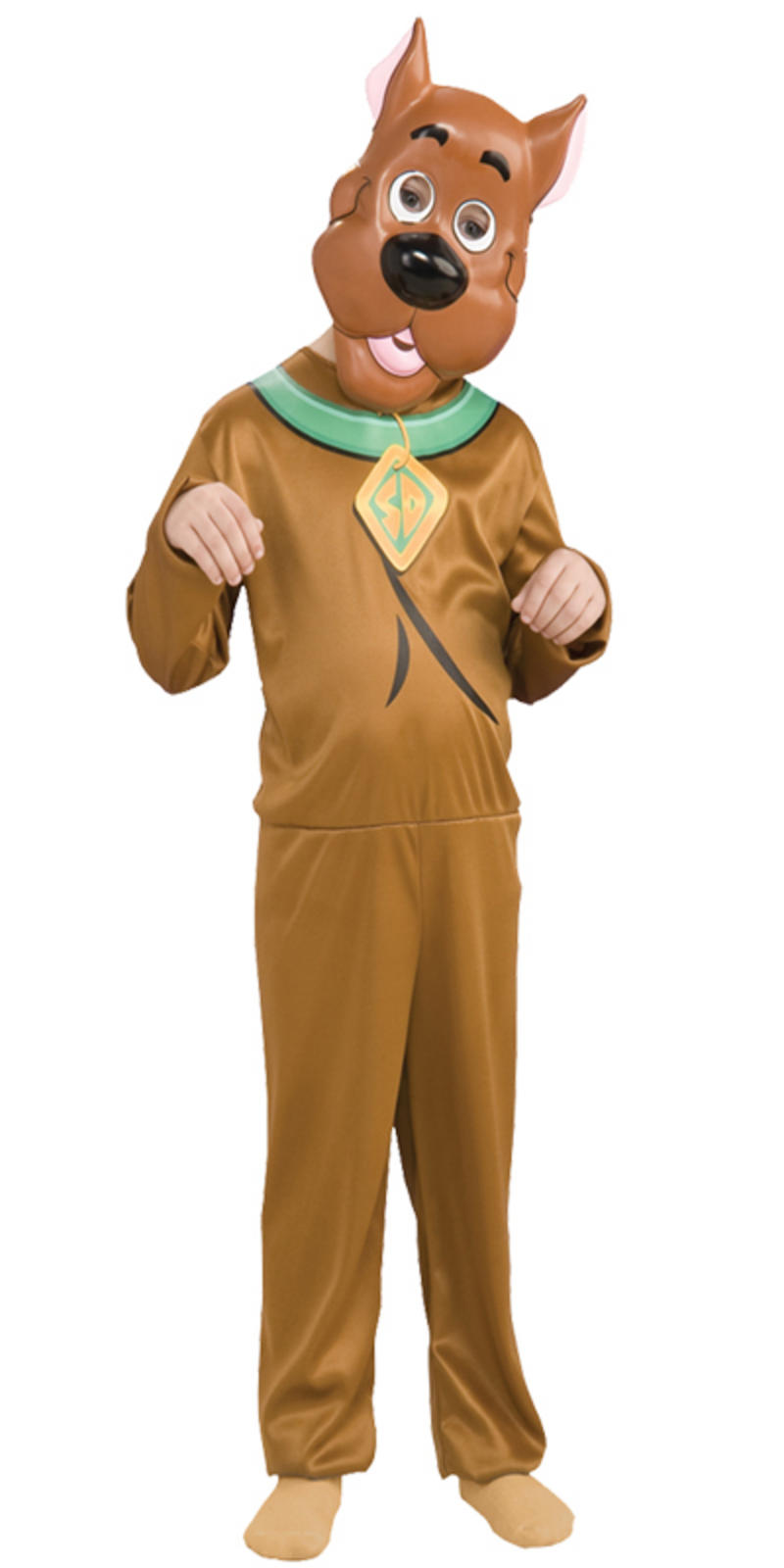 scooby doo dog kids fancy dress tv cartoon character childrens