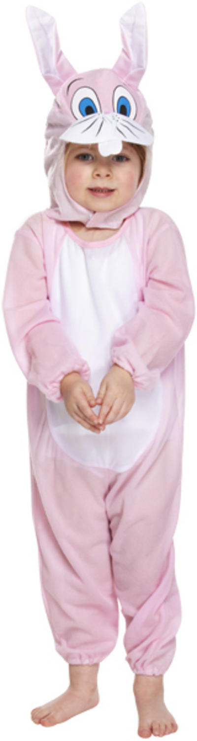 Kids Toddlers Pink Bunny Rabbit Costume