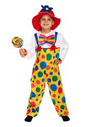 Kids Clown Costume: Boys & Girls Clown Costume