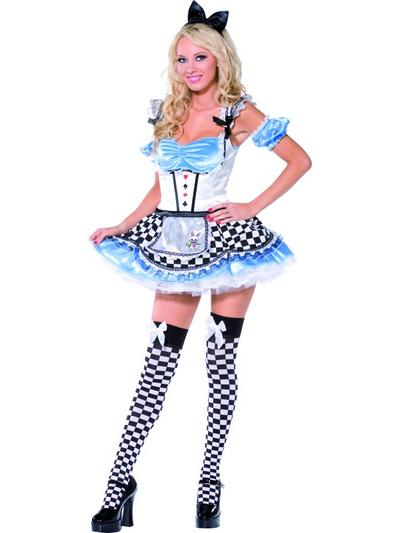Ladies' Sweet Alice Fever Boutique Fancy Dress Costume