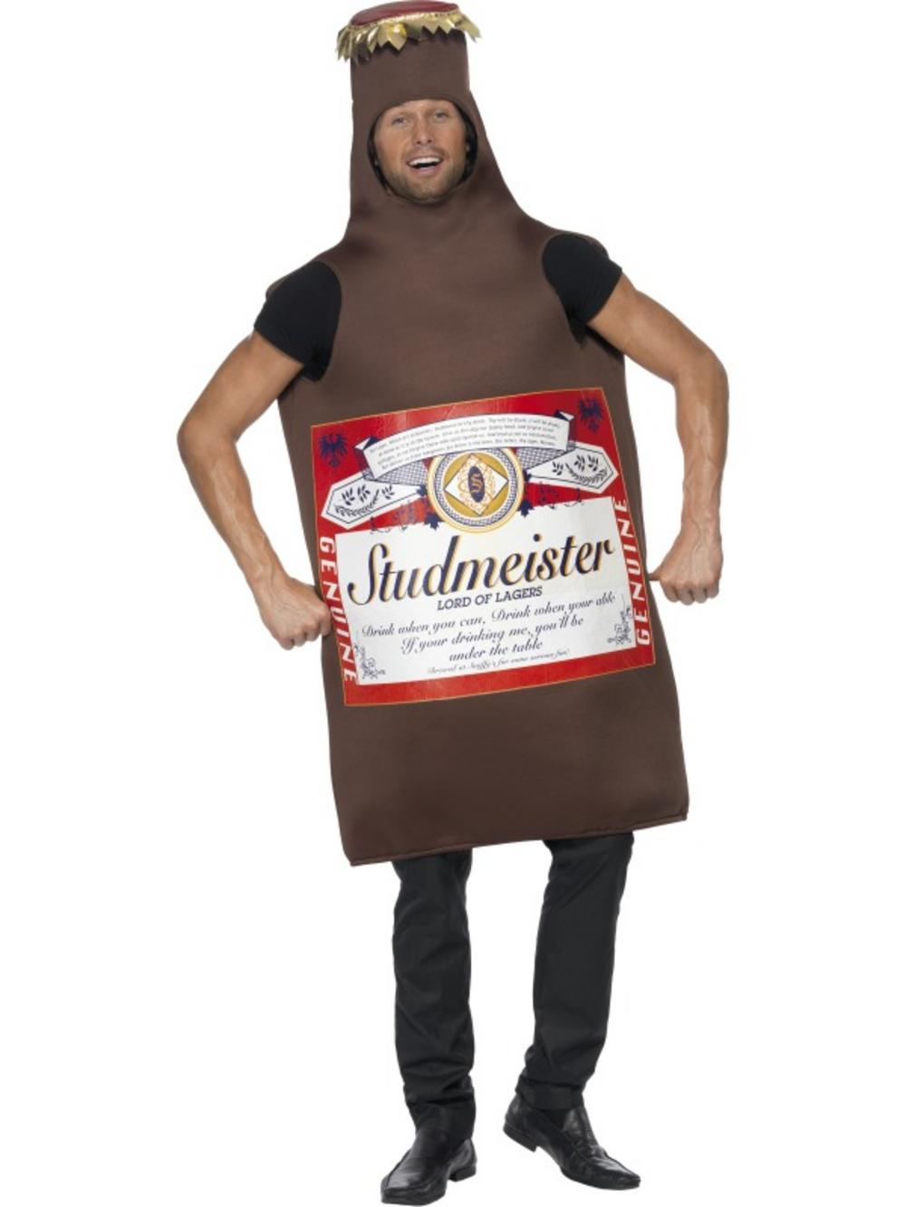 Studmeister Beer Bottle Costume