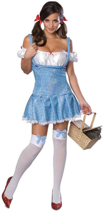 Wizard of Oz Sexy Dorothy Costume