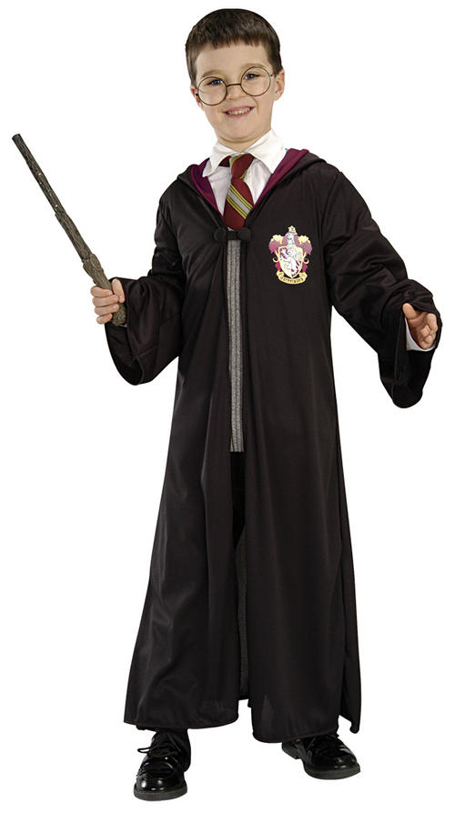 Large Rubies 884258L Harry Potter Deluxe Slytherin Robe Child Costume