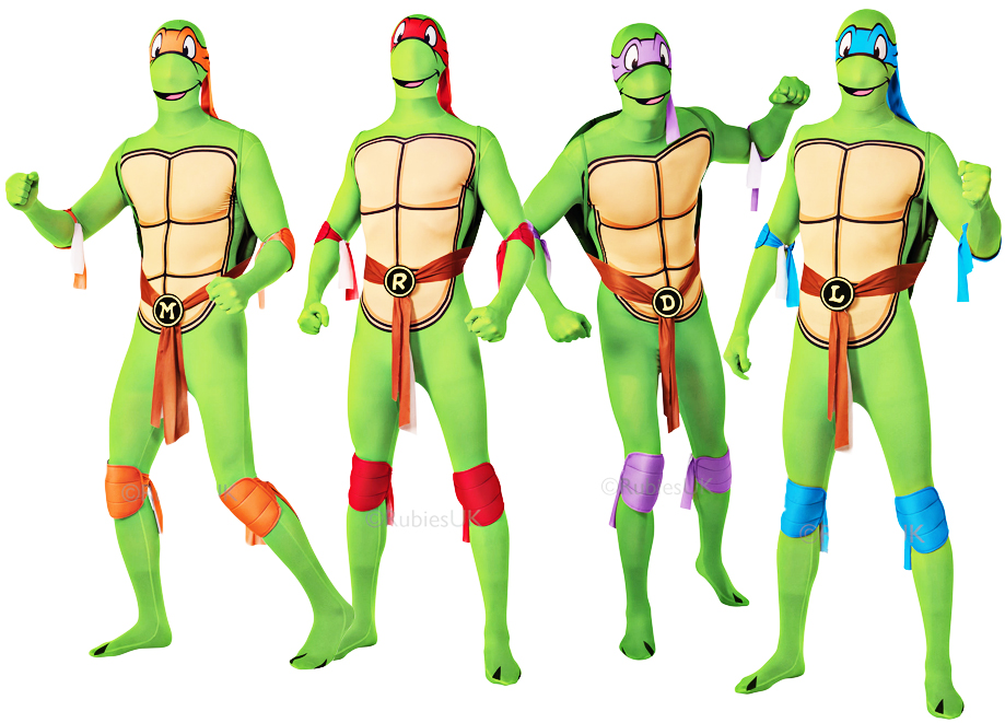 Sentinel Teenage Mutant Ninja Turtle Mens Fancy Dress Superhero TMNT Adult Costume  sc 1 st  eBay & Teenage Mutant Ninja Turtle Mens Fancy Dress Superhero TMNT Adult ...