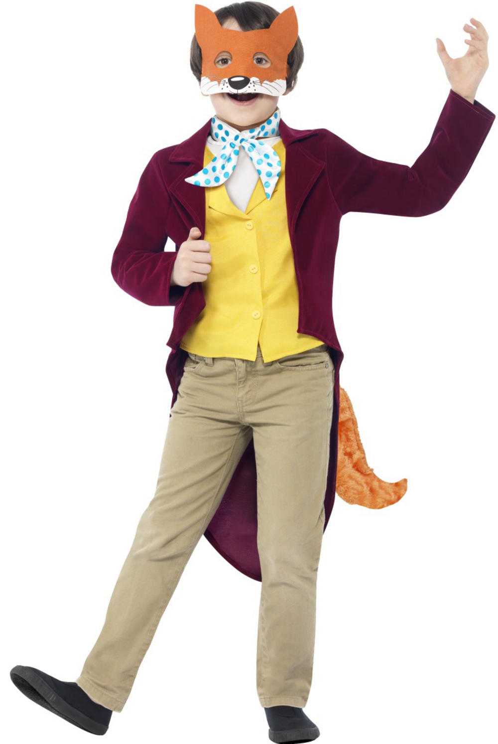 Fantastic Mr Fox Roald Dahl Costume  sc 1 st  Mega Fancy Dress & Animal Costumes | Mega Fancy Dress