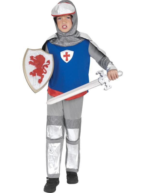 Boyu0027s Medieval Knight Costume  sc 1 st  Mega Fancy Dress & Boyu0027s Medieval Knight Costume | Boyu0027s World Book Day Fancy Dress ...