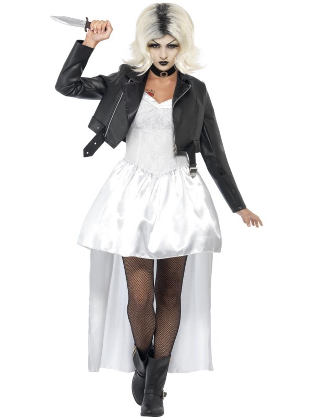 Ladies Bride of Chucky Costume
