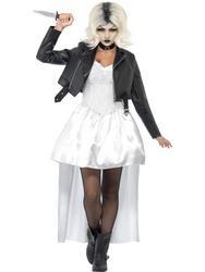Ladies Bride of Chucky Costume