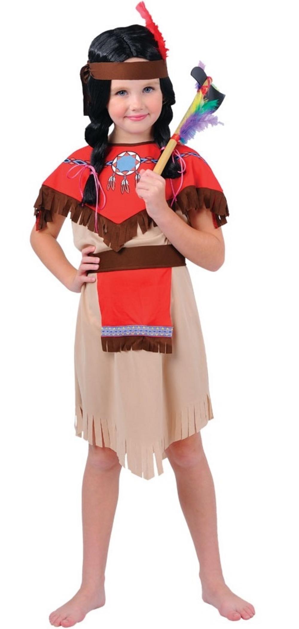 Girls Native Indian Costume
